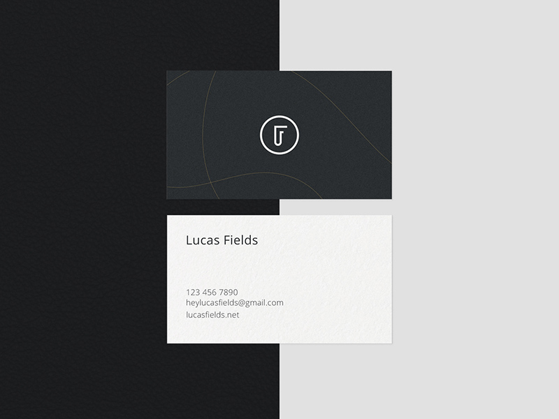 Minimalist Business Card Mockup Bundle Free Psd Template Psd Repo