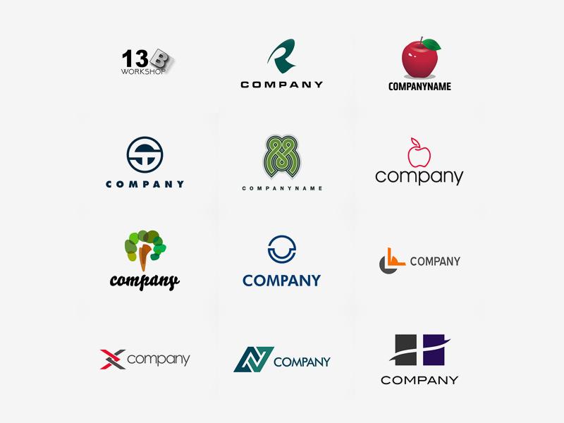 Logo Design Templates Freebie Download Photoshop Resource PSD - Logo creator templates