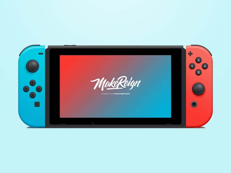 Free Nintendo Switch Vector download
