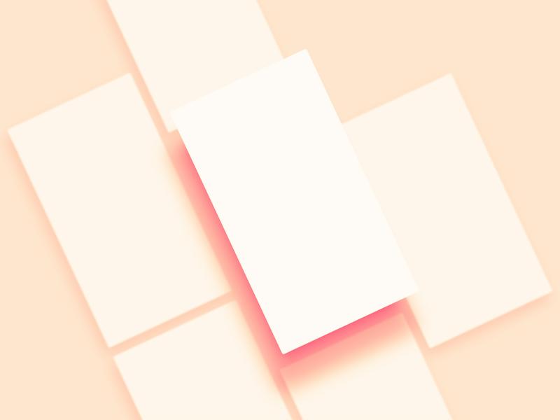 Blank Mobile Mockup Templates Freebie - Download Photoshop Resource ...