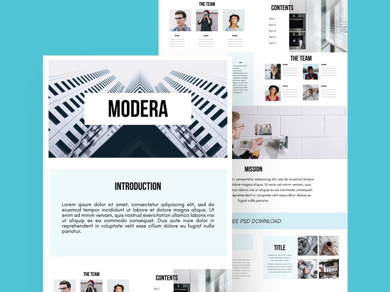 presentation templates freebie - download photoshop resource - psd, Powerpoint templates