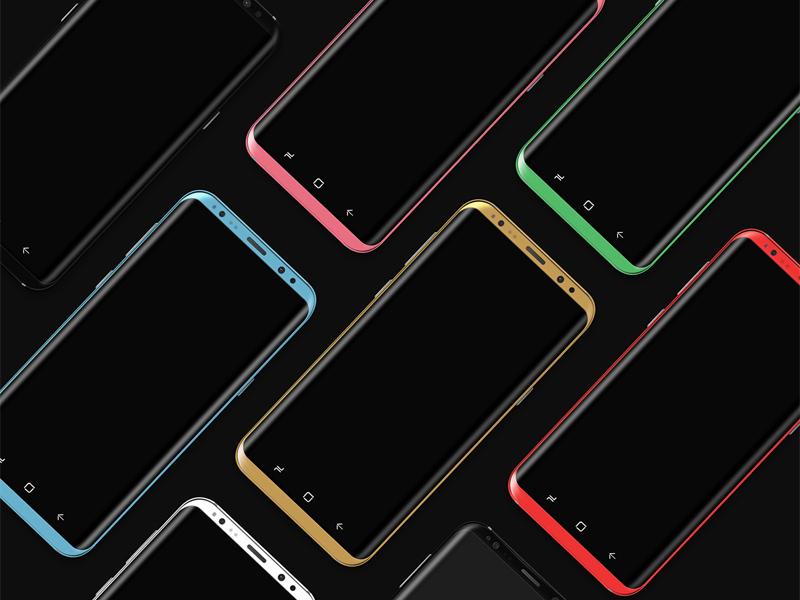 Free Samsung Galaxy S8 Mockup download