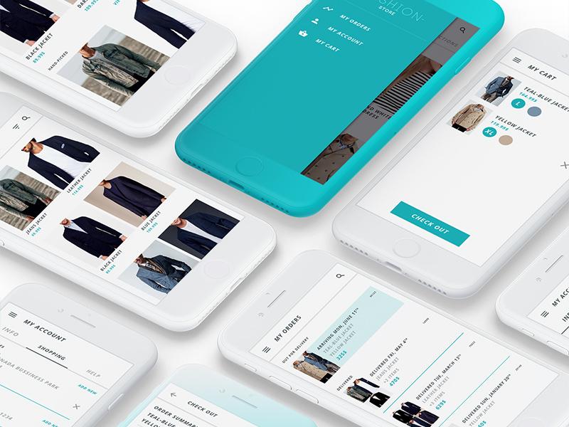 Free Mobile Store App Design download