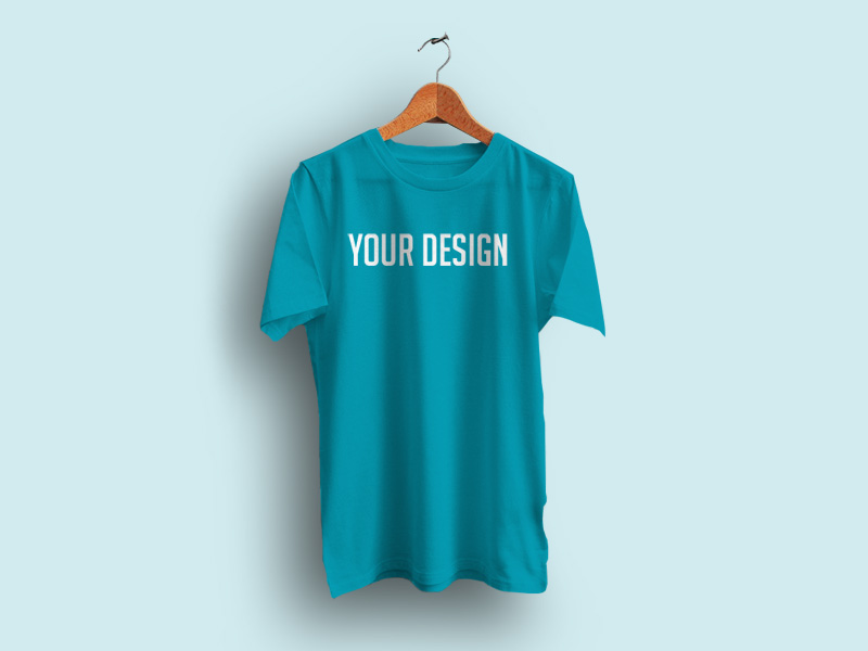Realistic t shirt mockup freebie download photoshop for T shirt mockup template free download