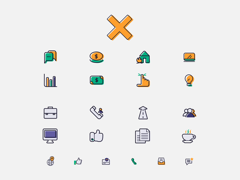 Finance Services Icons