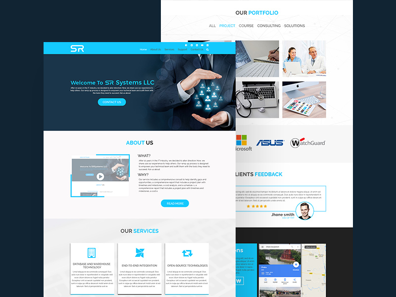 Business website template freebie download photoshop resource business website template wajeb Images