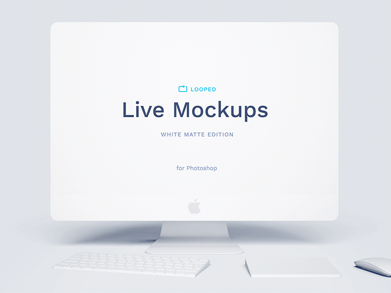 Free White Clay Mockups Collection download