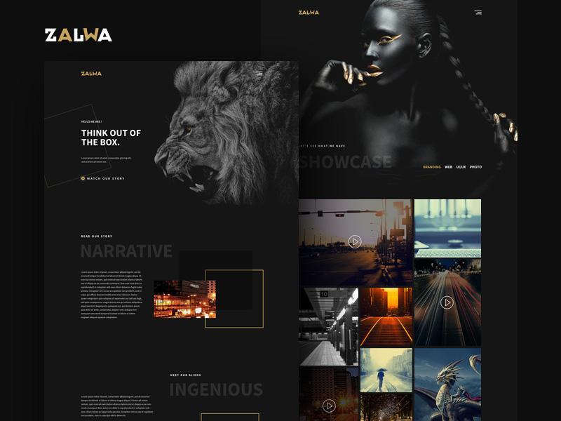 Zalwa Creative Studio Template
